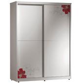《時尚屋》卡貝拉5尺印花衣櫥141-5