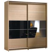 《時尚屋》威爾斯5.2尺拉門衣櫥097-11