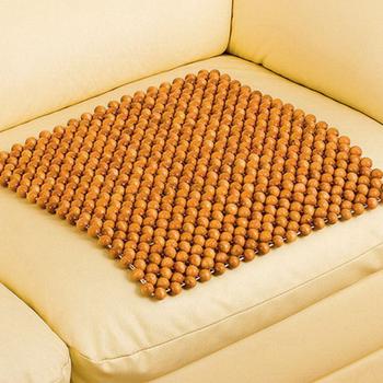 《歐桌拉》檜木珠坐墊-3入
