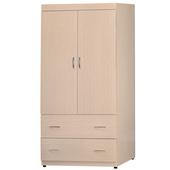奧斯卡3X6尺洗白衣櫥(58362)