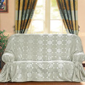 《布安於室》普普風 DIY 3人座沙發罩(銀灰)