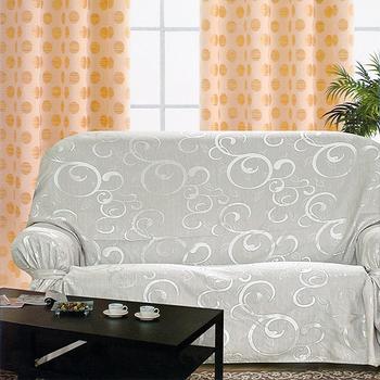 《布安於室》雅典 DIY 3人座沙發罩(銀灰)