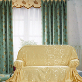 雅典 DIY 2人座沙發罩