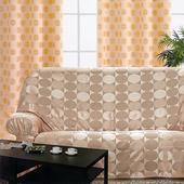 《布安於室》普普風DIY單人座沙發罩(咖啡色)