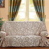 《布安於室》蔓澤DIY單人座沙發罩(紅咖)