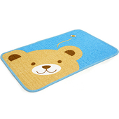 《布安於室》熊熊踏墊-(2入組)-藍色