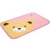 《布安於室》熊熊踏墊-(2入組)-粉色
