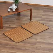 《歐桌拉》舒涼植草立體透氣二人坐墊(深色)50*100cm