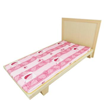 時尚屋 3尺單人冬夏兩用三折式透氣床墊BU303-3