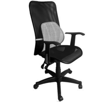 凱堡 Aniki全網高背T字型扶手辦公電腦椅(送網腰腰靠)