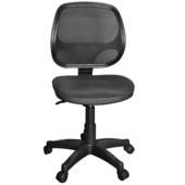 《凱堡》Detectiveu透氣網背電腦辦公椅(黑色)
