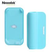 《Nexestek》iPhone 5/5S/SE 專用 MediaBox 基礎防水型音樂擴音座(天空藍)