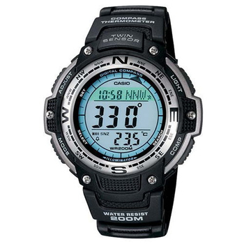 CASIO SPORTS 極限武士數位羅盤運動錶SGW-100-1V