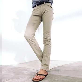 FATAN 韓系牛仔仿腰帶休閒長褲(34)