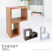 《BuyJM》超厚2.5公分創意組合收納櫃(3色)(柚木色)
