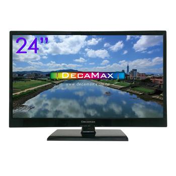 DECAMAX 24吋FHD LED液晶顯示器+視訊盒 (DM-24HV)(DM-24HV)