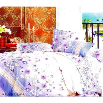 《Luo mandi》類天絲  雙人三件式床包組(D組 花語典藏)