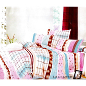 《Luo mandi》類天絲  雙人三件式床包組(H組 浪漫佳人)