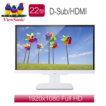 ViewSonic優派 VX2263SMHL-W 22型 IPS 寬液晶顯示器