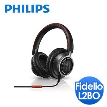 PHILIPS 飛利浦 Fidelio覆耳式耳機附麥克風(L2BO)