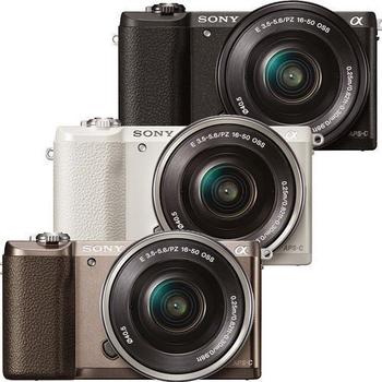 SONY ILCE-5100L(A5100L)變焦鏡組(公司貨)★送32G+專用電池+座充(附車充線)+UV保護鏡+相機包(黑)