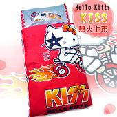 《HELLO KITTY》KISS熱火兒童睡袋-奔馳腳踏車篇(4*5尺-紅)