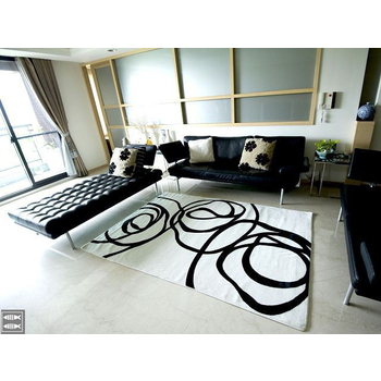 現代視覺系進口地毯-160x230(白底)