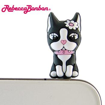 【Rebecca Bonbon】優雅坐姿立體造型耳機防塵塞