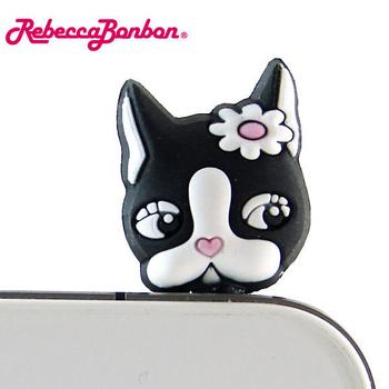【Rebecca Bonbon】經典狗頭立體造型耳機防塵塞