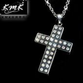 《KMK鈦鍺精品》聖十字晶鑽墜鍊