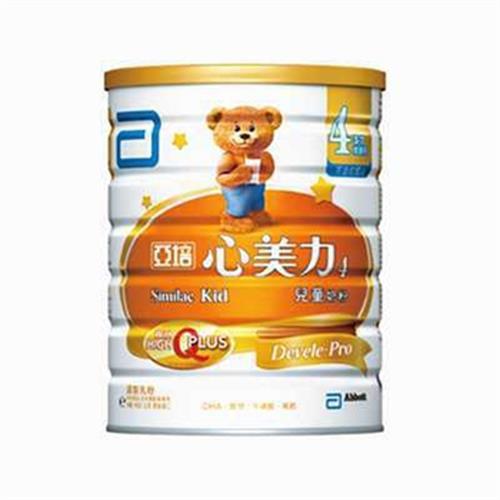 亞培 心美力兒童奶粉4號(900g/罐)