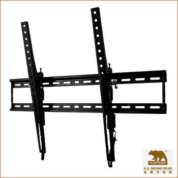 美國布朗熊 W5-T63 傾角式電視壁掛架(適用37吋~63吋電視壁掛架)