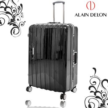 法國 ALAIN DELON 亞蘭德倫 29吋 休閒雅仕系列鋁框旅行箱(黑)