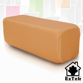 《輕鬆睡-EzTek》Toast瘋時尚低反發吐司枕-繽紛5色(風尚橘)