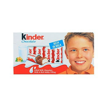 Kinder 健達牛奶巧克力(100g*2盒)