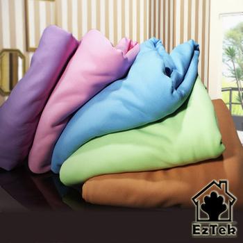 《輕鬆睡-EzTek》薄墊專用吸濕排汗布套9-11 單人加大(淡紫色)