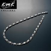 《KMK鈦鍺精品》心連心  純鈦-項鍊