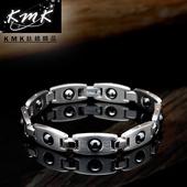 《KMK鈦鍺精品》潛能星球(純鈦+磁鍺健康手鍊)