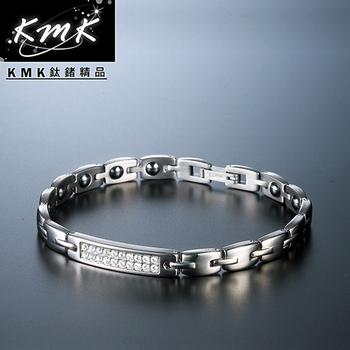 KMK鈦鍺精品 The Princess公主 純鈦-手鍊