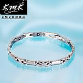 《KMK鈦鍺精品》長青竹節  純鈦-手鍊