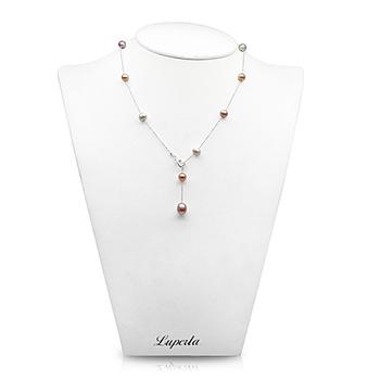 大東山珠寶 時尚珍珠項鍊-濃情愛心