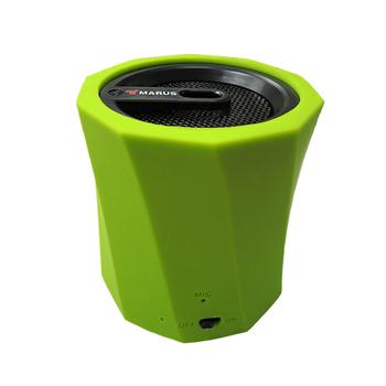 MARUS馬路 可插卡重低音行動藍牙喇叭+免持通話(時尚綠)