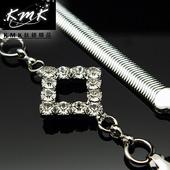 《KMK鈦鍺精品》《個性主義-菱形》(多功能腰鍊、項鍊、配飾)