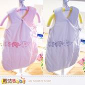 《魔法Baby》嬰兒睡袋 百貨專櫃正品厚鋪棉極暖睡袋(藍.粉) ~k37326(藍)