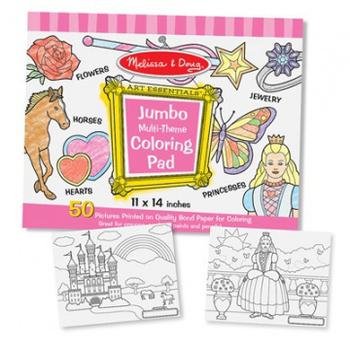 美國瑪莉莎 Melissa & Doug 大型兒童繪圖本(粉紅)