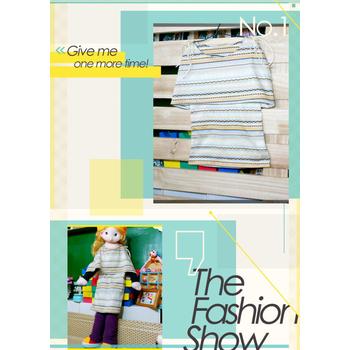太樂童裝 韓版風格 濃厚品味斗篷雙肩特色民族風造型童洋裝 2色(5)