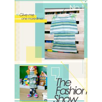 太樂童裝 韓版風格 濃厚品味斗篷雙肩特色民族風造型童洋裝 2色 青草綠(5)