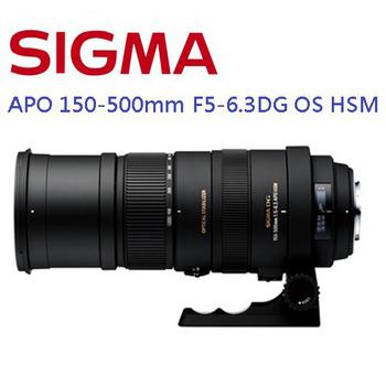 SIGMA APO 150-500mm F5-6.3 DG OS HSM 望遠變焦鏡(公司貨)(CANON)