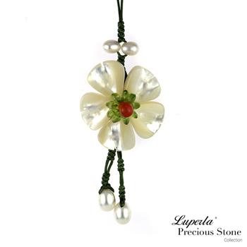 大東山珠寶Luperla 貝殼桐花吊飾