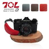 《70L》DSLR Hand Strap DHS01 真皮單眼相機手腕帶(附快拆板)-微單可用(復古棕)